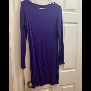Topshop long sleeve dress